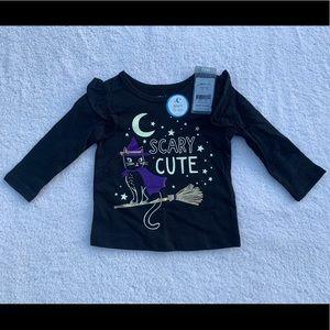 Carter's Halloween Shirt Size 6 Months NWT